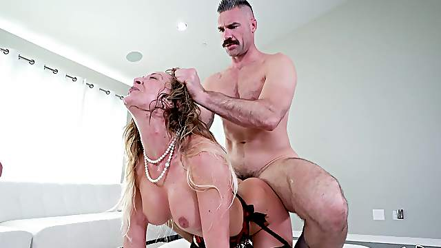Cherie DeVille was determined to leave these studs breathless
