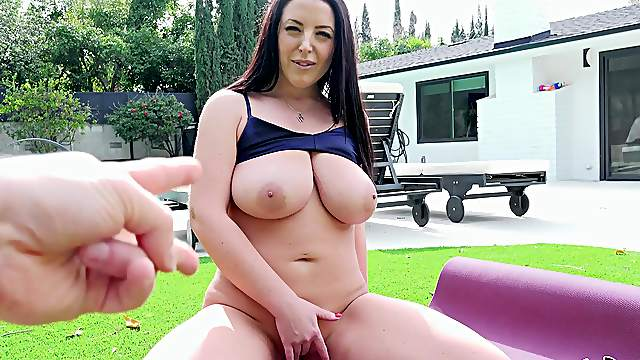 Busty MILF is keen to try some fresh inches in her slutty cunt
