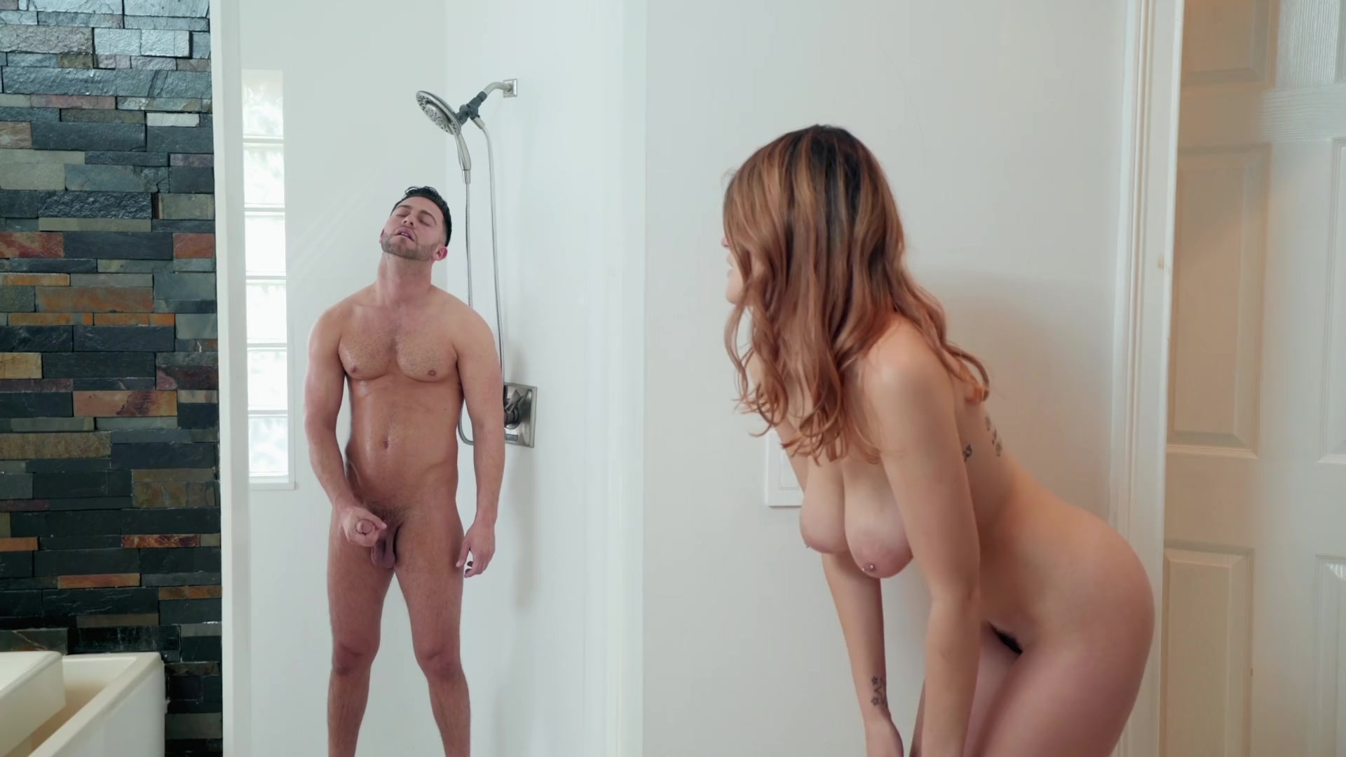 Bitch endures plenty of hard inches in a pretty rough sex play