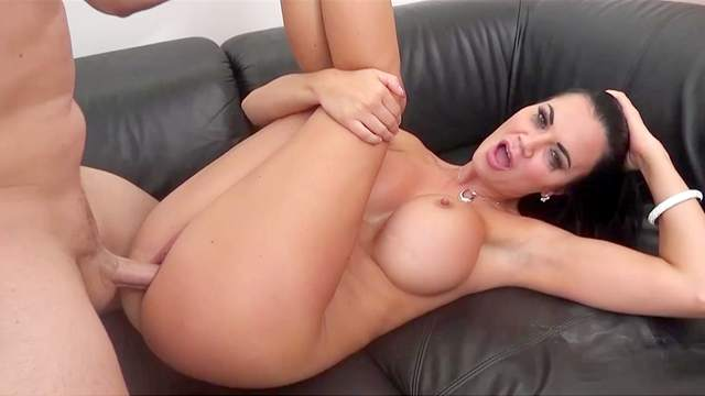 Sultry Jasmine Jae's sweet pussy can really take a pounding