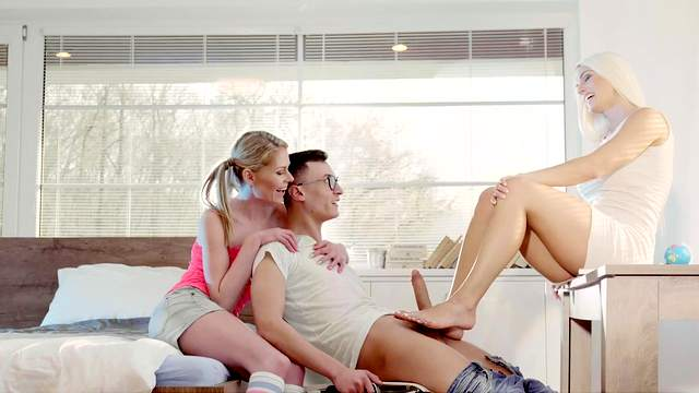 Blanche Bradburry misbehaves with stepdaughter Claudia Macc and her bf